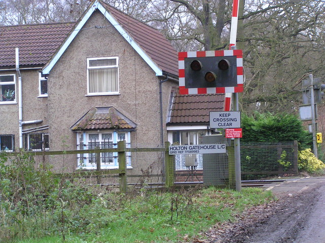 Level Crossing complete with grid ref