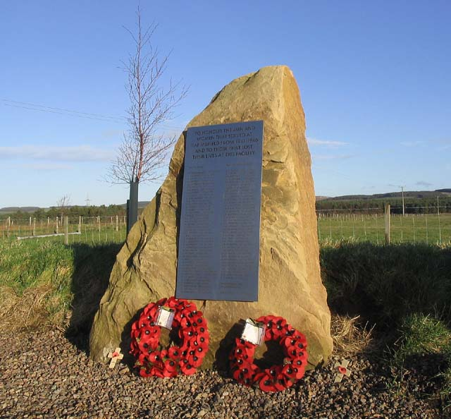 RAF Milfield war memorial