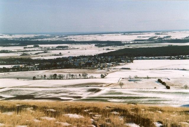 Edzell from Edzell Hill