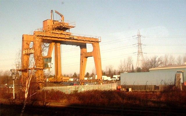 Portobello rail-freight terminal.