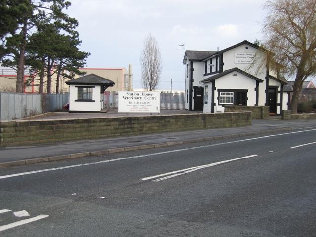 The Redundant Broughton and Bretton Railway Station
