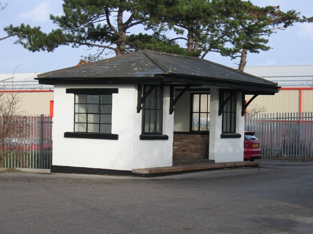 The Redundant Broughton and Bretton Station Waiting Room