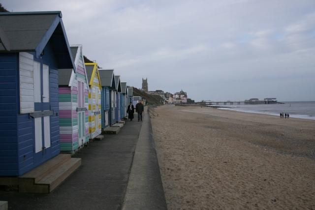 Beach huts, Cromer