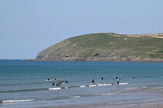 Surf Training at Croyde Bay
