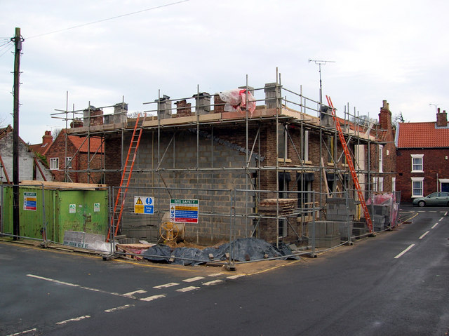 House Building in Priestgate