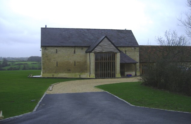 Barn conversion at Park farm