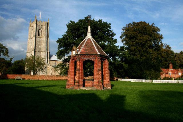 Village green , Heydon