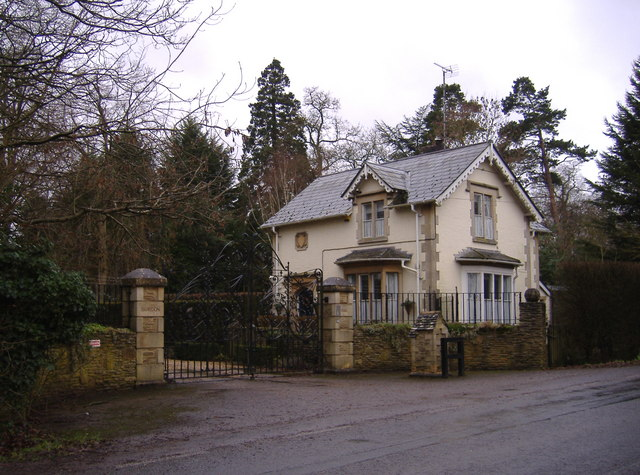 The gatehouse at Braydon Hall