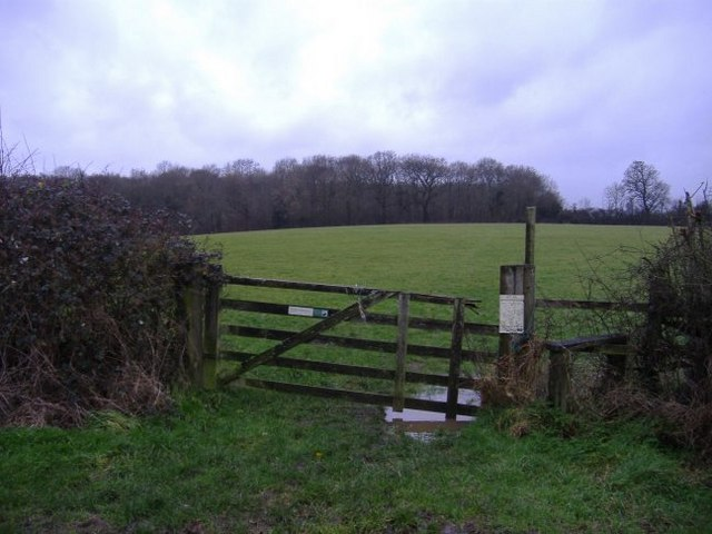 Footpath leading to Old Copse