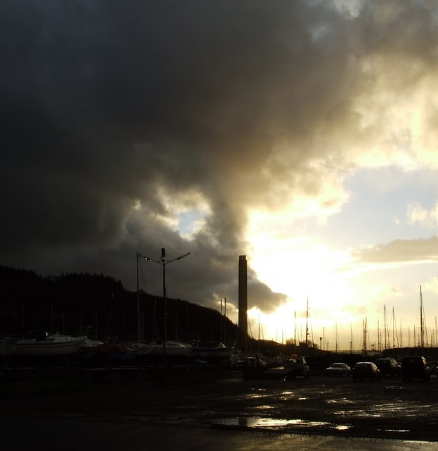 Storm passing Inverkip