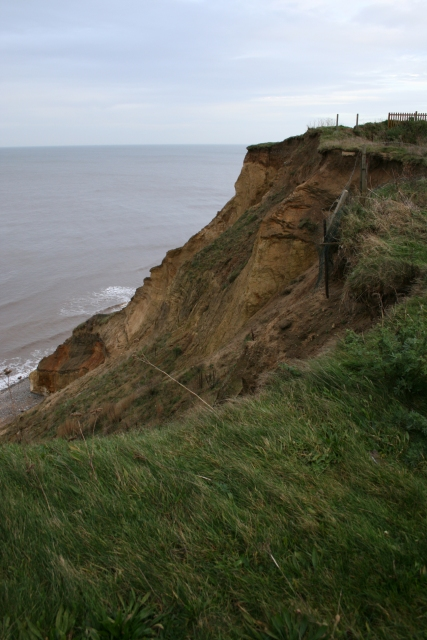 Cliff path, East Runton