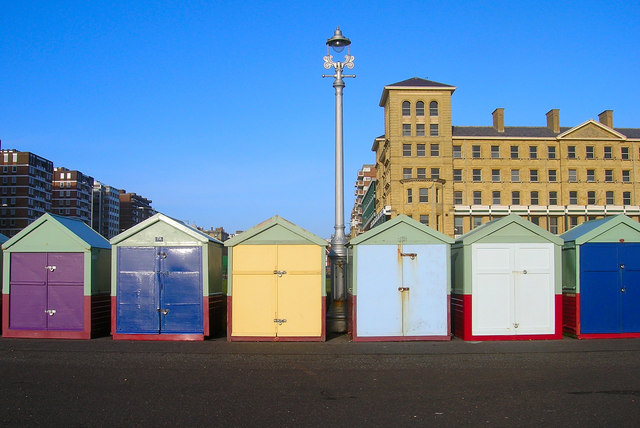 Beach Huts, King's Esplanade
