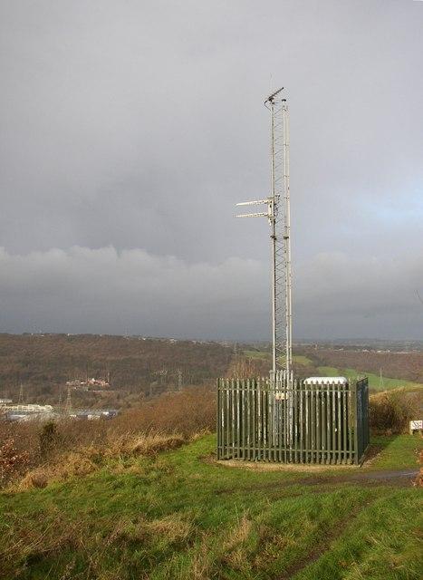Radio relay station, Lower Edge, off Church Lane, Elland