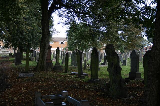 Cemetery Nottingham Road, Basford