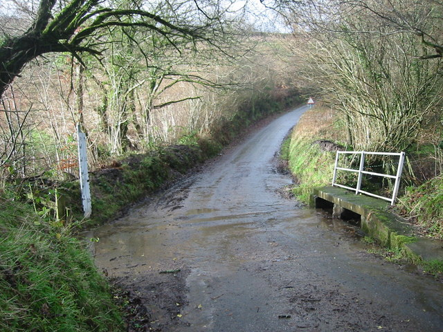 Ford between Meshaw Village and Parsonage farm