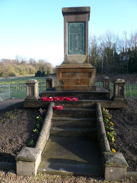 Pleasley Vale War Memorial