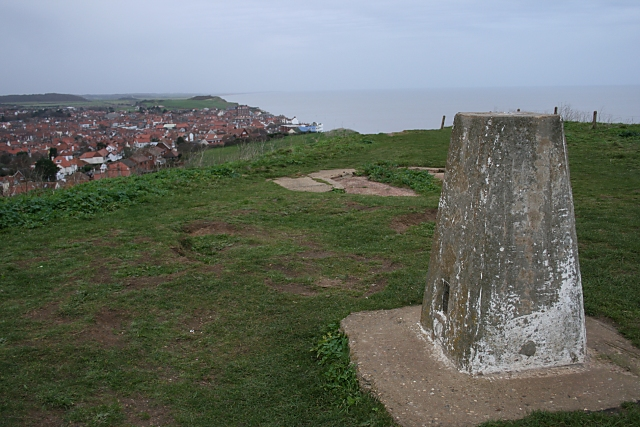Trig point, Beeston Hill