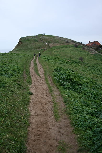 Path to Beeston Hill, Sheringham