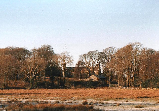 The rear of Plas Tirion Hall from the Pencefn road