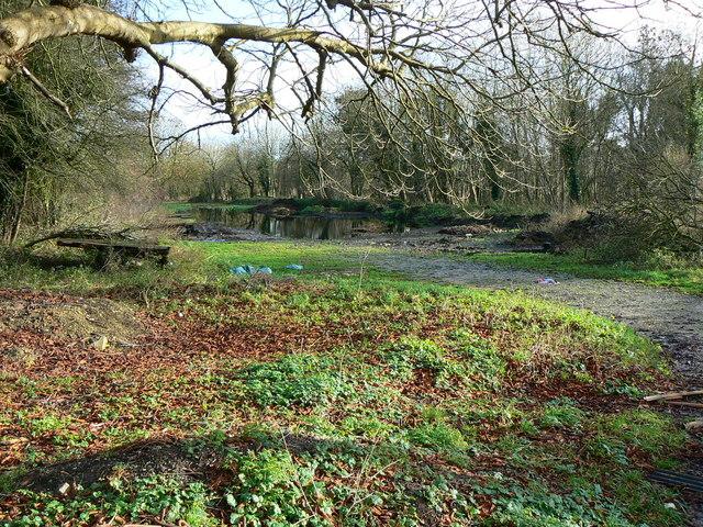 Site of Hannington Station, Swindon