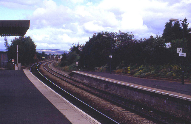 Northwards from Ludlow Station