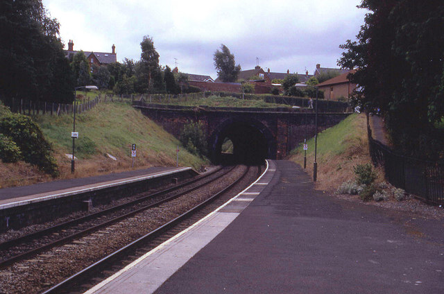 Looking South from Ludlow Station