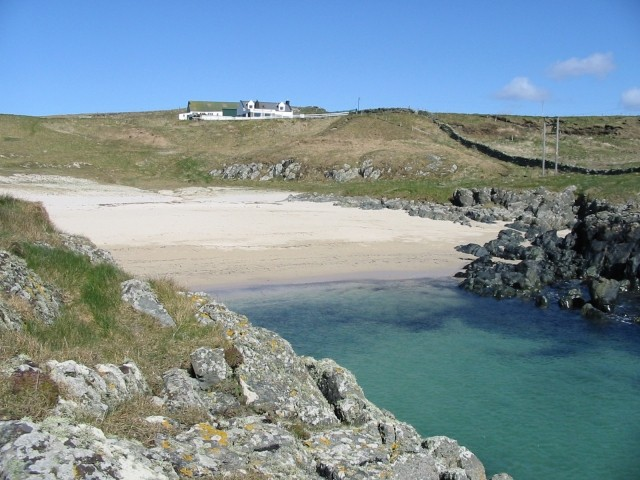 Claddach beach