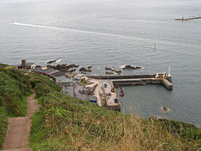 Fort Bovisand from the Coast Path