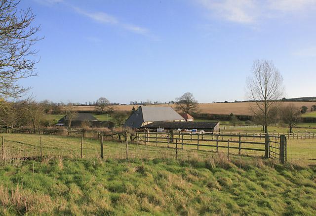 Totford Farm seen from Wayfarer's Walk