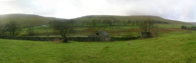 Rice Side Barn in the Skirfare Valley