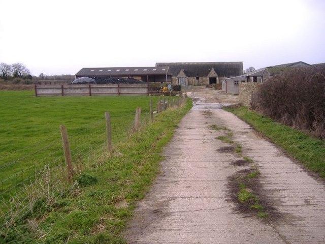Farm near Brokenborough