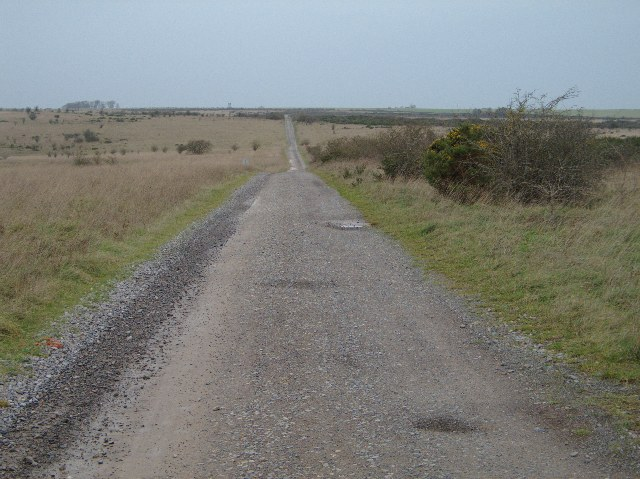 Byway through artillery range