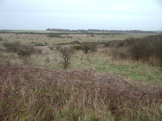 View across artillery range