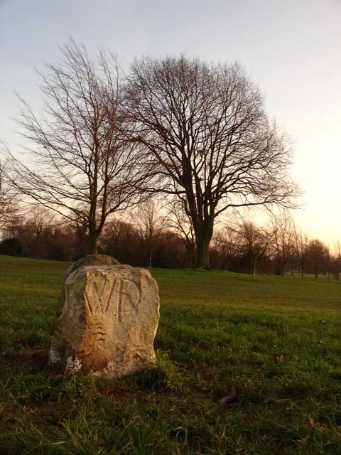 Westbury Parish Boundary Stone