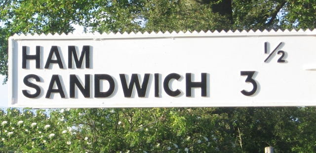 Ham Sandwich finger post