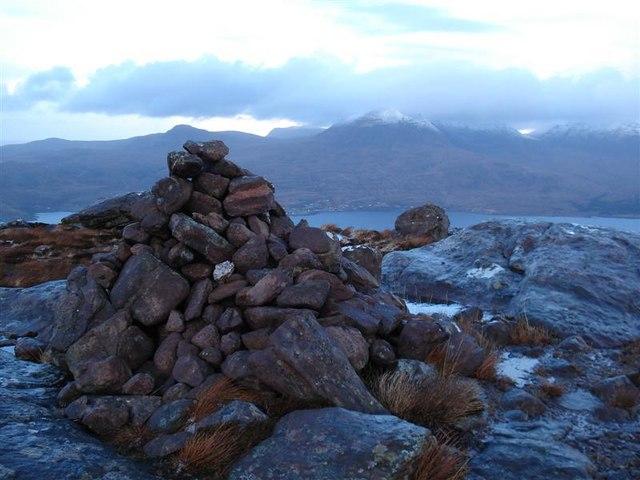 Summit of Beinn Shieldaig