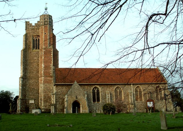 St. Andrew's church, Earls Colne, Essex