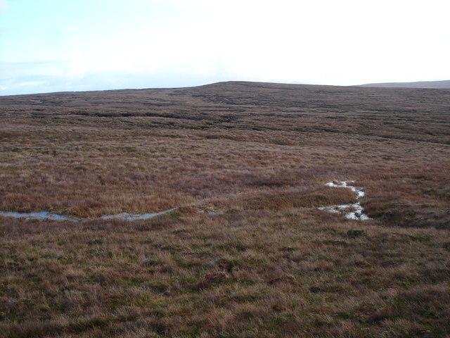 Allt Loch na Cloiche Gile valley