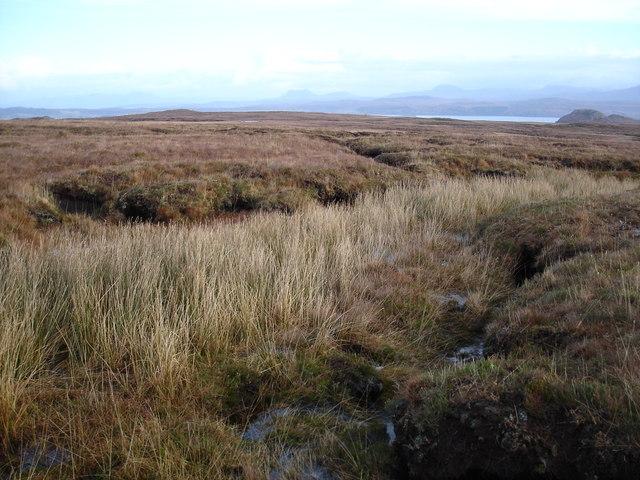 Moorland looking towards Loch Ewe