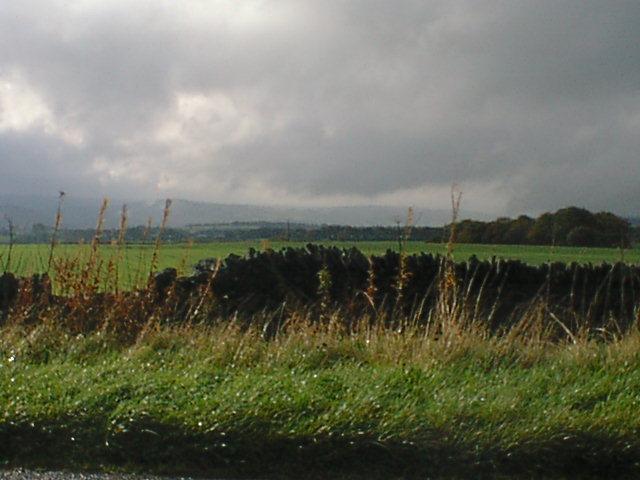Rain Clouds Across Middle Moor