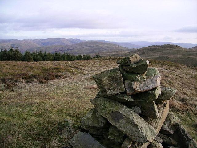 Summit Cairn, Mabbin Crag