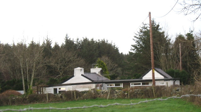 Cefn-ffordd - a much extended traditional cottage