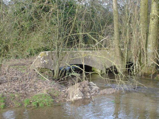 Footbridge by Bowldish Pond