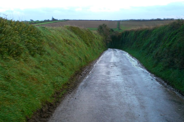 Down the lane from Boswague to Portholland