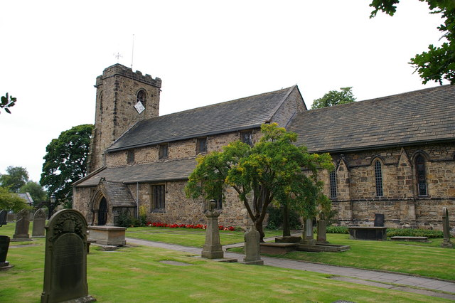 St Mary's and All Saints Church Whalley