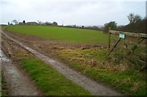 SW9444 : View down the access road to Pencoose Farm by Kieran Evans