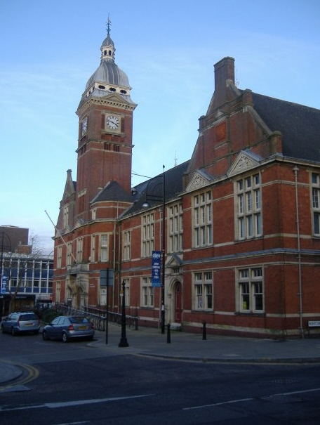 The old town hall, Swindon