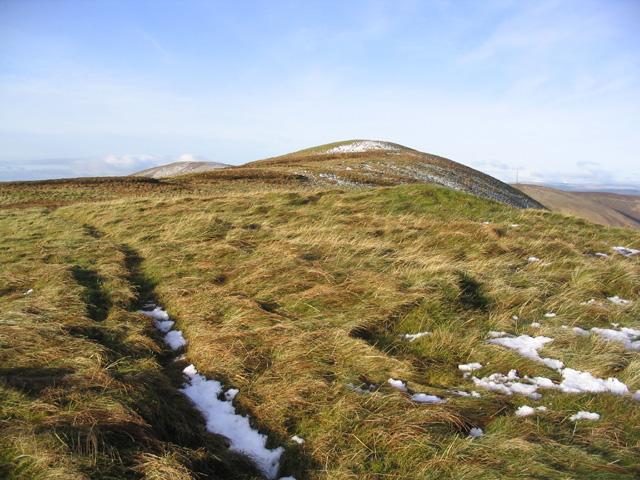 Walking along to Ellson Fell