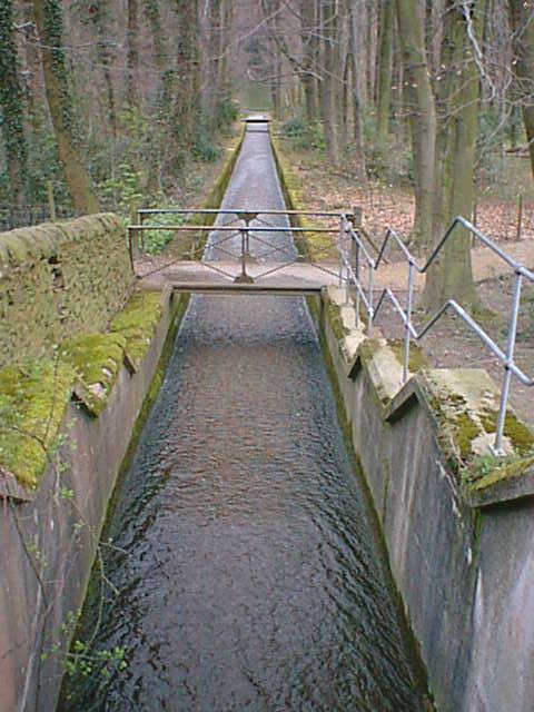 Linacre Middle Dam Spillway