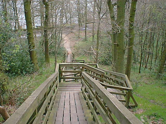 Linacre Steps to Middle Dam